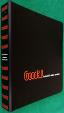 Goodall Industrial Rubber Products Rare Orig 1972 Heavy Binder Full Of Manuals