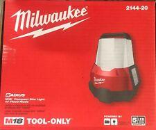Brand New Milwaukee M18 Radius Compact Site Light 2144-20 Free Shipping