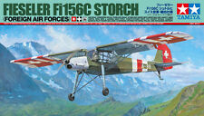 TAMIYA 1:48 KIT AEREO DA MONTARE FIESELER Fi156C STORCH FOREIGN AIR FORCES 25158
