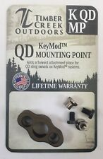 TIMBER CREEK - KeyMod - QUICK DETACH MOUNTING POINT - BURNT BRONZE - MADE IN USA