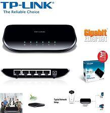 Original TP Link TL Sg1005d V6 5 Port Gigabit Desktop Switch UK Fast Deliver