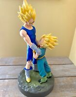 Dragon Ball Z Vegeta and Trunks Dramatic Father Son Goodbye Style Figurines NEW