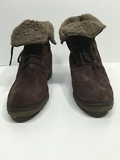 """BOSTON SPORT SUEDE LEATHER """"TUNDRA"""" LACE UP BOOT size 10"""