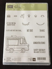 Stampin' Up TASTY TRUCK Photopolymer Stamp Set - Brand New