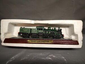 Au101 Atlas Editions Locomotive Collection  - 3904023 - Shay Locomotive