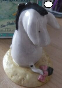 Royal Doulton Disney Winnie the Pooh Classic Collection 'Eeyore's Tail' Boxed