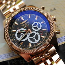 Breitling BENTLEY Barnato RACING XL solid 18k gold automatic watch Limited