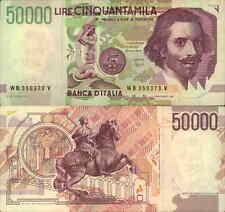 50.000 lire L. Bernini 09/12/1992