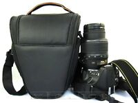 SLR DSLR Lens Camera Bag Carry Case For Nikon Canon Sony Cover