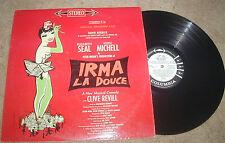Irma La Douce Broadway Cast LP CBS WL PROMO STEREO 1960