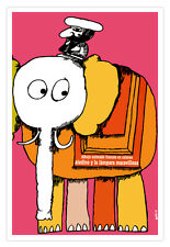 "Spanish movie Poster 4 animated film""ALADDIN.Elephant""Children room Decor art"