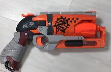 NERF Zombie Strike HammerShot Hammer Shot Foam Dart Gun Blaster Tested WORKS