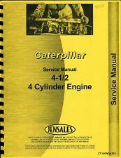 Caterpillar 4.5x4 Cyl. Engine (D315,D4 6U 7U,112,955) Service photocopy