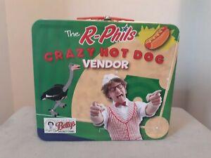 READING PHILLIES Fightin R-Phils CRAZY HOT DOG VENDOR Lunch Box