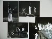 Lote 6 Foto Leon Myszkowski Opera Foto Analógica Trojanki Varsovia Polonia 1979