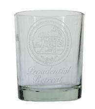 Camp David Presidential Rückzug Wasser Glas, vorgelegt Charles H.... Lot 110