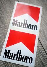 marlboro stickers F1 Classic Stickers Ayrton Senna 85MM X 85MM