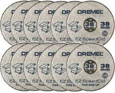 Dremel SC456 S456 EZ SpeedClic Metal Cutting Wheels Pack of 12 Loose
