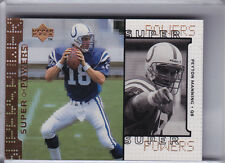 1998 UPPER DECK #S16 PEYTON MANNING ROOKIE RC INDIANAPOLIS COLTS 8104C