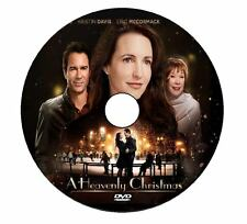 A HEAVENLY CHRISTMAS 2016 DVD HALLMARK MOVIE KRISTIN DAVIS No Case/Art-DiscOnly