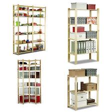 22 Modelle HOLZREGAL Haushaltsregal Bücherregal HOLZ Regal SERIE B Kombinierbar*