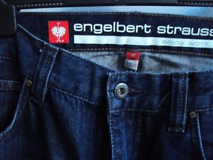 Engelbert Strauss Jeans Arbeitshose Men Größe W38L30 EU 27
