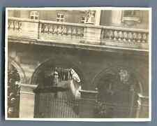 France, Visite de la Reine d'Hollande à Paris, Juin 1912  Vintage silver pr