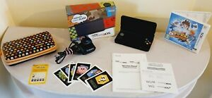 """""""New"""" Nintendo 3DS Black Boxed With AR Cards Manual & Charger Console 