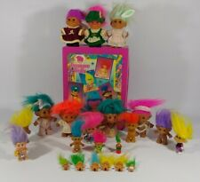 Vintage Treasure Trolls Case 22 Trolls