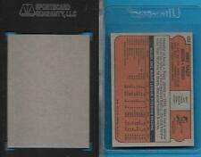VINTAGE RED SOX BLANK BACK PROOF CARD 1972 TOPPS #488 MIKE NAGY *GRADED SGC AUTH