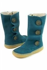 NIB New LIVIE & LUCA Shoes Boots Marchita Ocean Blue Toddler 5 6 7 8 12