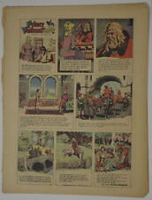 PRINCE VALIANT Full Color SUNDAY PAGE King Features Hal Foster 6/11/1967, #1583