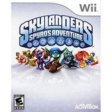 Skylander's Spyro's Adventure Wii - Game And Case