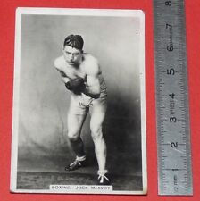 BOXING CIGARETTE CARD SPORTING EVENTS & STARS 1935 BOXE JOCK McAVOY POIDS MOYENS