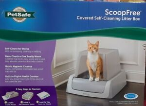 ScoopFree by PetSafe Covered Self-Cleaning Cat Litter Box #8060