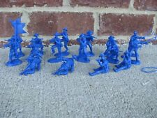 US Cavalry Horse Handlers Set 5 Paragon 1/32 54MM Toy Soldier Custer