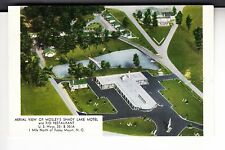 Aerial View of Mosley's Shady Lake Motel & Rio Restaurant Rocky Mount  NC