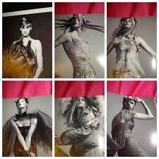 Linda EVANGELISTA clippings VOGUE Italia Steven MEISEL