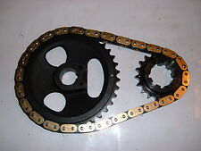 Buick nailhead NEW TRUE ROLLER timing chain set  264-322 1953-1954-1955-1956