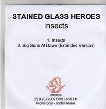 (AC363) Stained Glass Heroes, Insects - DJ CD