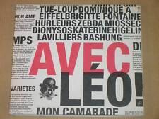 BOITIER CD + DVD RARE / AVEC LEO, MON CAMARADE / HOMMAGE A LEO FERRE / TB ETAT