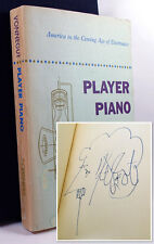 Kurt Vonnegut PLAYER PIANO Signed Advance Review Proof, w/Self-Caricature COA