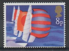 1975 Sailing. 8p black omitted error. Fine unmounted mint.