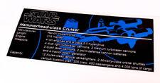 Lego Star Wars UCS / MOC Sticker for Hammerhead Corvette + Instructions