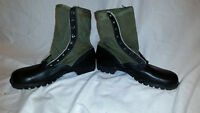 CIC 1960s GREEN VIETNAM HOT WEATHER SPIKE PROTECTIVE JUNGLE BOOTS JJ 315