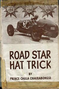 Road Star Hat Trick, 2 seasons racing B.Bira Prince Chula original edition 1948