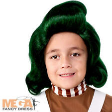 Oompa Loompa Childs Wig Fancy Dress Chocolate Factory Worker Costume Accessory