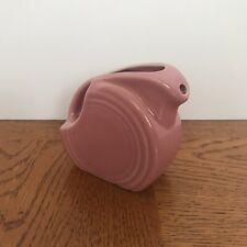 NWOT Rose Fiestaware Mini Disk Pitcher Discontinued From Factory In Newell, WV