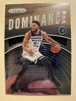 2019-20 Panini Prizm Karl-Anthony Towns Dominance Insert #15 - ** MINT! WOW!! **