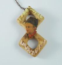 ❤❤❤ Alter Christbaumschmuck -Zuckermasse mit Oblate um 1900   (# 7079) ❤❤❤